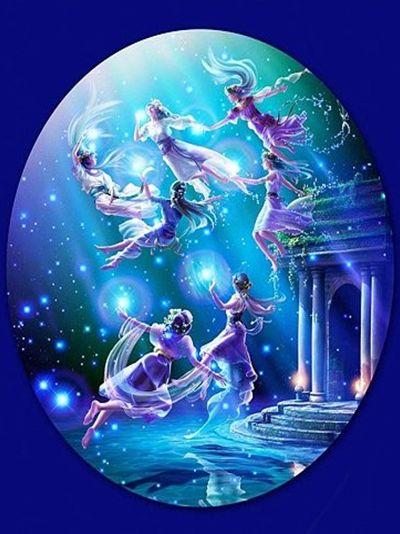 Le Pleiadi mitologiche