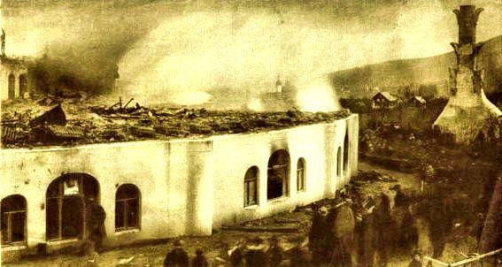Le rovine del primo Goetheanum
