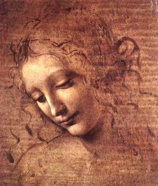 Leonardo «Volto femminile»