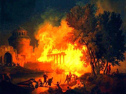 L'incendio di Roma del 64 d.C.