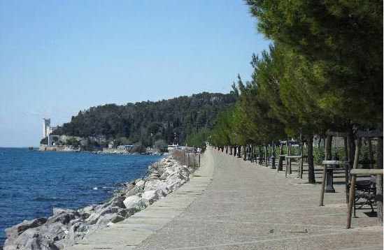 Lungomare di Trieste