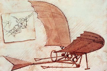 Leonardo «Progetto di macchina volante»