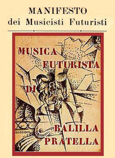 Manifesto Musicisti Futuristi