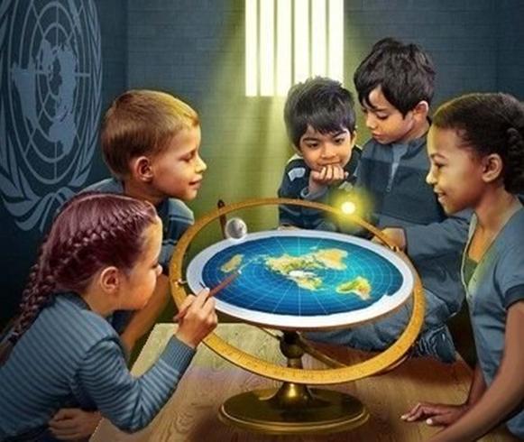 Mappa mondo (piatto)