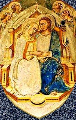 Maria e Cristo sposi Sacro speco Subiaco