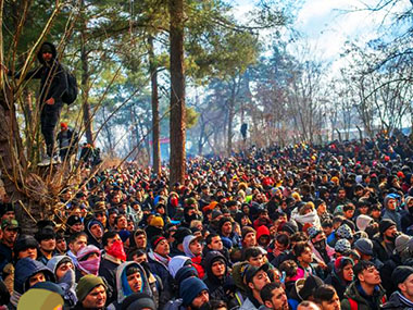 Ondata di migranti dalla Turchia alla Grecia
