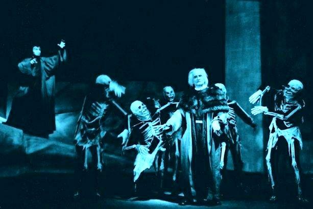 Goetheanum, Dornach «Morte di Faust»nell'interpretazione del grande Kurt Hendewerk