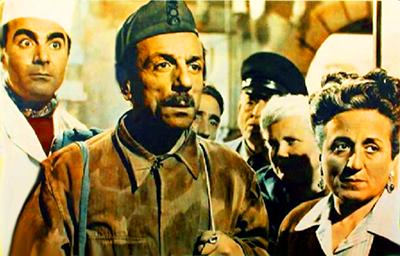 """Eduardo e Titina De Filippo in """"Napoli milionaria"""""""