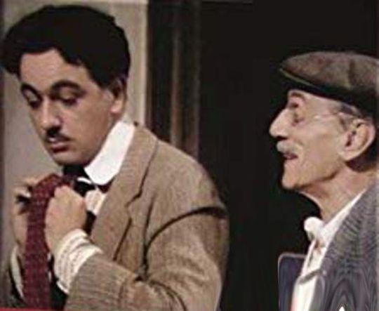 """Luca ed Eduardo De Filippo in """"Natale in casa Cupiello"""""""