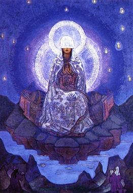 Nicolaj Roerich La Madre del Mondo 2