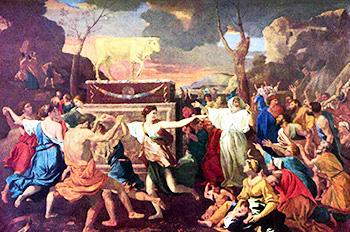 Nicolas Poussin Adorazione del vitello d'oro