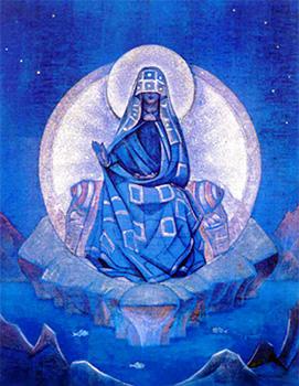 Nikolaj Roerich La Madre del Mondo 1