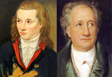 Novalis e Goethe