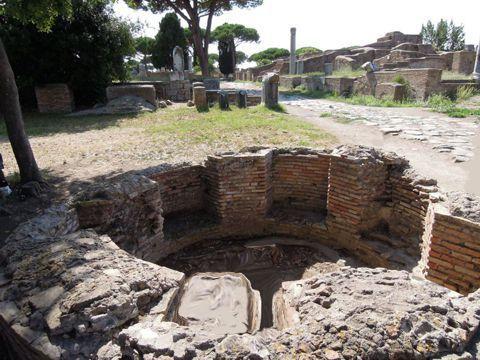 Il mundus di Ostia