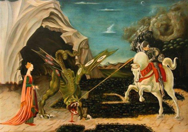 Paolo Uccello  «San Giorgio e il drago