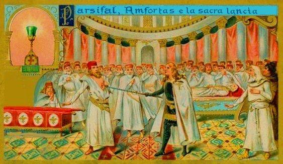 Parsifal e Amfortas