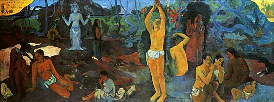 Paul Gauguin « Da dove veniamo? Chi siamo? Dove andiamo?»