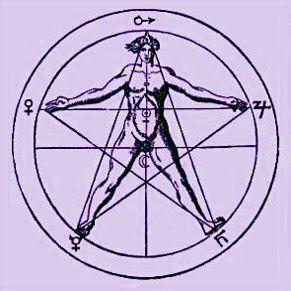 Pentagramma di Agrippa von Nettesheim