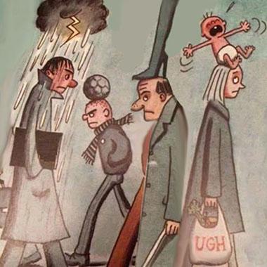 Persone infelici