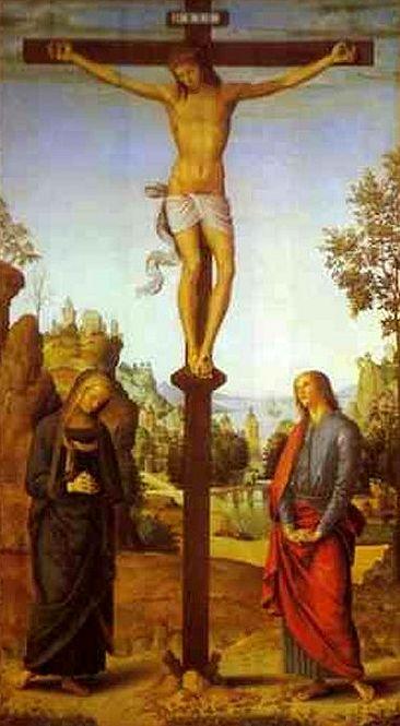 Il Perugino  «Crocifissione»