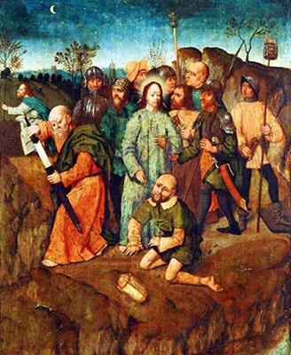 Pietro estrae la spada