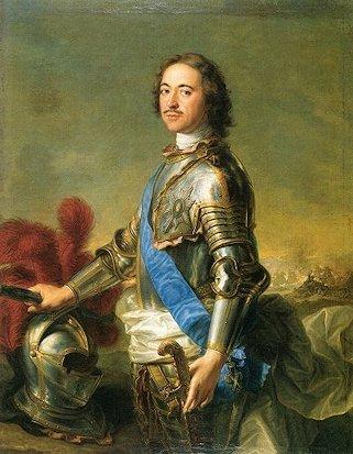 Lo zar di Russia Pietro il Grande