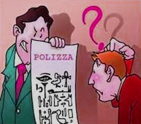 Polizza incomprensibile