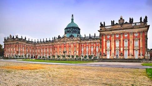Potsdam - Castello di Sans Souci