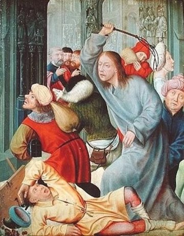 Quentin Massys La cacciata dei mercanti dal tempio