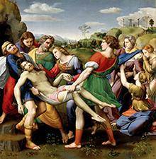 Raffaello Deposizione Galleria Borghese