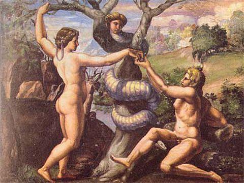 Raffaello «Il peccato originale»