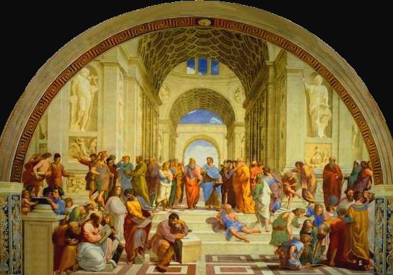 Raffaello  «La Scuola di Atene»