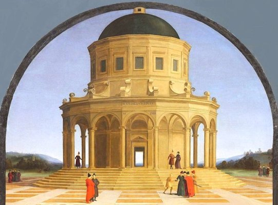 Raffaello Particolare Sposalizio della Vergine