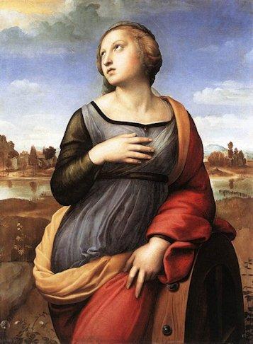 Raffaello «Santa Caterina d'Alessandria»