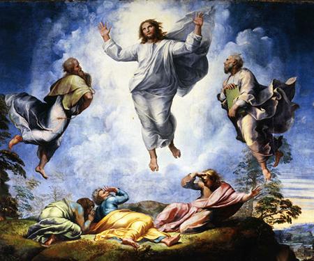 Raffaello «La Trasfigurazione»