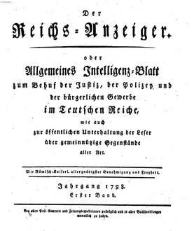 Reichsanzeiger