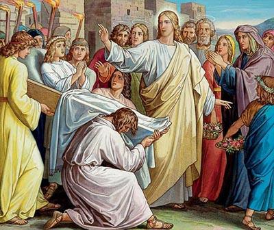 Resurrezione del figlio della vedova di Nain
