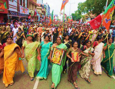 Rivolta delle donne indiane