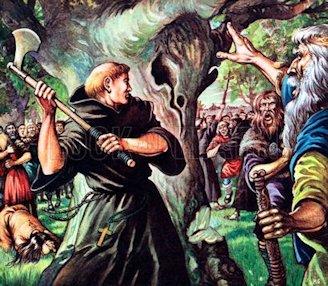 San Bonifacio e la sacra quercia