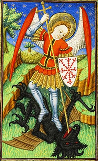 «San Michele Arcangelo» – Miniatura medievale