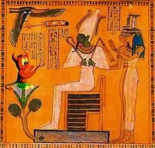 Scrittura dono di Osiride