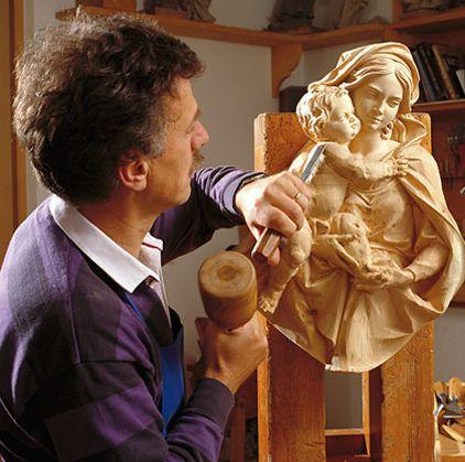 Scultore in legno di Schio (Vicenza)