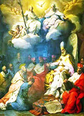Sebastiano Conca Incontro di Federico Barbarossa con Alessandro III