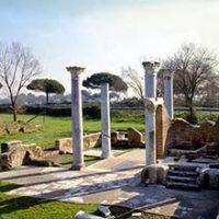Resti della Sinagoga piú antica d'Europa