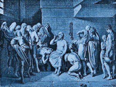 Socrate beve la cicuta