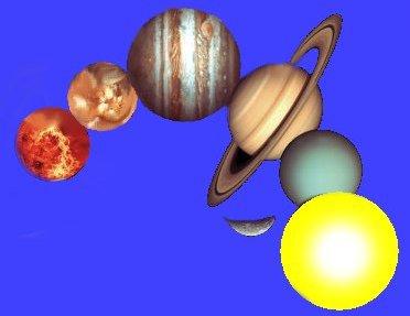 Sole Luna e pianeti