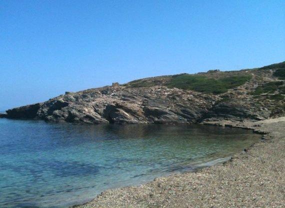 Spiaggetta isolata