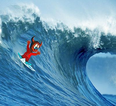 Surfando sulle onde