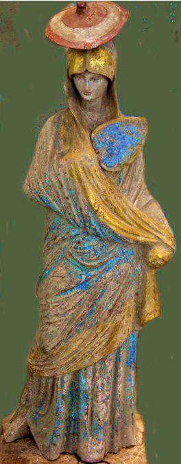 Tanagra - La dama in blu