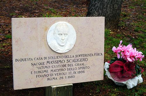 Targa commemorativa Massimo